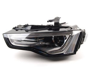 ES#2770602 - 8T0941043C - European Bi-Xenon Headlight - Left - Improved European beam pattern without amber marker - Automotive Lighting - Audi