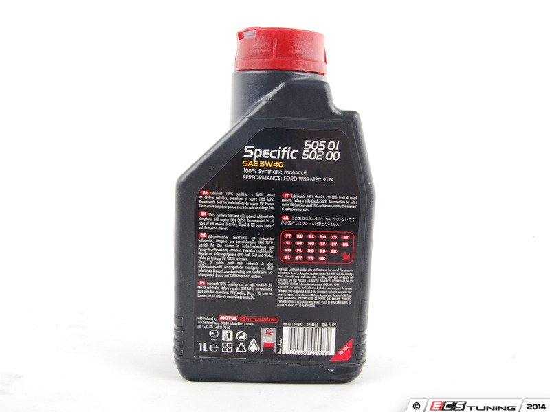 Motul 842411 specific engine oil 5w for Synthetic motor oil change intervals