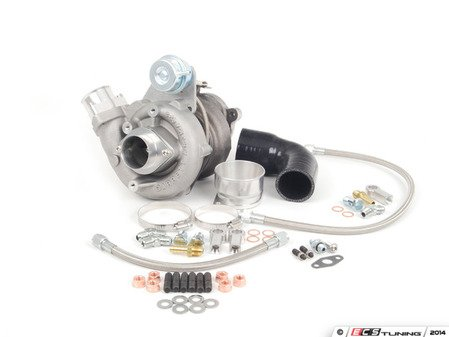 ES#3714110 - atp-vvw-165KT - GT2871R Eliminator Kit (w/ Hardware) - Rated at roughly 400hp capable, this GT2871R can drop into the factory location, utilizing factory style components. Much more robust then your average K04 upgrade. - ATP - Audi