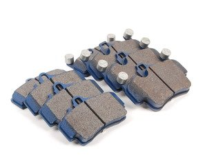 ES#2804567 - 7894-D1135KT - Front & Rear Cool Carbon S/T Performance Brake Pad Set  - All-in-one brake pads that deliver pure undiluted performance - Cool Carbon Performance - Porsche