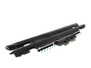 "ES#2804197 - E30ISSSKT -  sport Side Skirt Kit  - Add the more aggressive ""is"" side skirts to your car. Includes mounting hardware. - Genuine BMW - BMW"