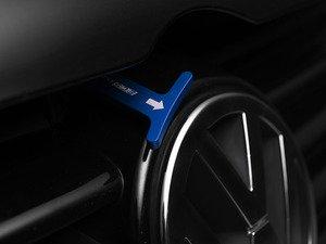 ES#2748845 - 4200ECS02A-04 - Billet Aluminum Hood Pull Release Rod - blue Anodized - Billet aluminum hood release replacement for plastic OEM hood pull - ECS - Volkswagen