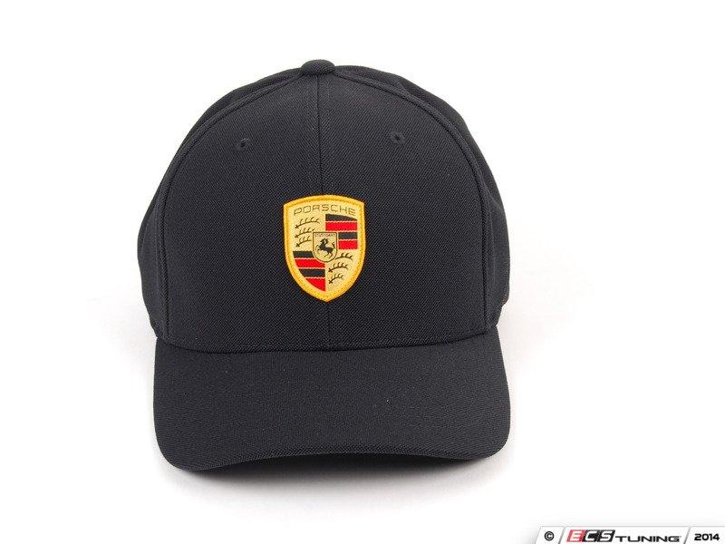 Genuine Porsche Wap0100010f Porsche Crest Baseball Cap