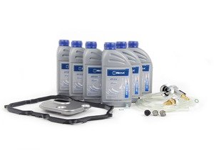 ES#2804532 - 09M325429 -  6-Speed Automatic Transmission Service Kit - with Service Tool - Save time and money with a transmission service kit from ECS. Includes Meyle trans fluid, filter, and a pan gasket from OE suppliers. - Assembled By ECS - Volkswagen