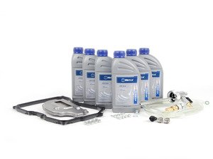ES#2804530 - 09G398429AKT4 -  6 - Speed automatic transmission service kit - with Service Tool - Includes Meyle trans fluid, filter, drain plug with new seal, a pan gasket and the Schwaben Trans. Service Tool for a complete service. - Assembled By ECS - Volkswagen