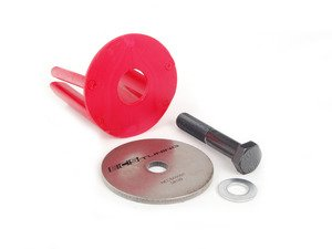 ES#251900 - 1K0198000R - ECS Dogbone Mount Insert Kit - Red - Smoother shifts and better throttle response in minutes - ECS - Volkswagen