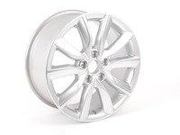 """ES#2610227 - 8P0601025DM - 17"""" V-Split 10-Spoke Wheel - Priced Each - 17""""x7.5 ET56 5x112 Silver - Genuine Volkswagen Audi - Audi"""