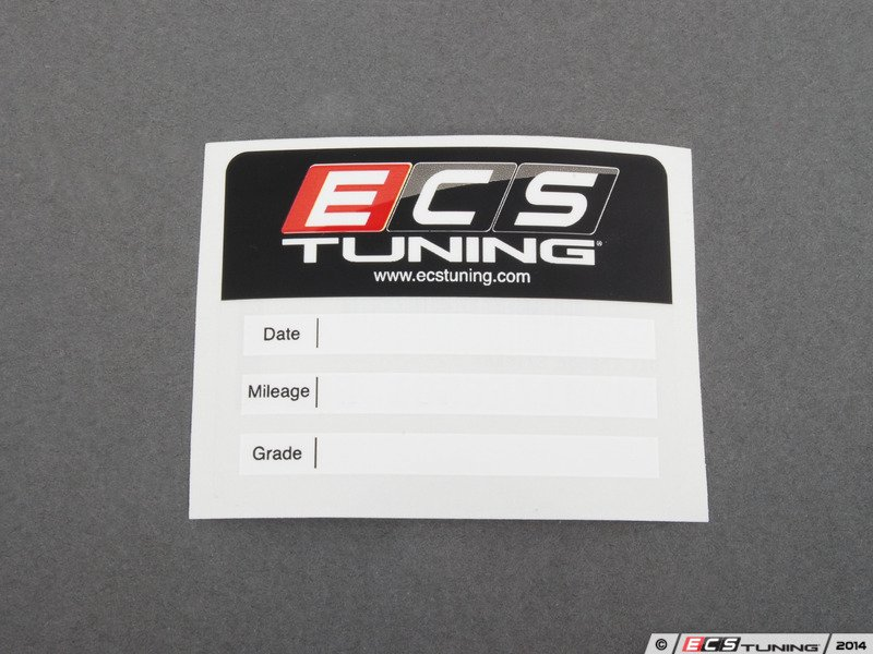 ... ES#2804104 - 009012ECS01 - Oil Change Sticker - Priced Each - Be sure  to ...