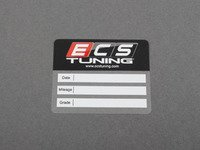 ES#2804104 - 009012ECS01 - Oil Change Sticker - Priced Each - Be sure to remind yourself when it will be time to order your next Oil Service Kit from ECS Tuning - ECS - Audi BMW Volkswagen Mercedes Benz MINI Porsche
