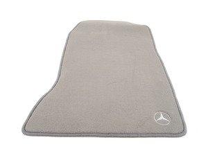 ES#1827642 - Q6680284 - Carpeted Floor Mat Set - Grey - Genuine Mercedes Benz - Mercedes Benz