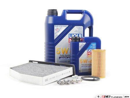 ES#2723188 - 2.540KSERKT - 40K Service Kit - *ECS Recommends* - Featuring Liqui Moly High Tech 5w-40 engine oil and a Hengst Filter - Assembled By ECS - Volkswagen