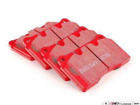 ES#2622201 - DP32070C - Front Redstuff Performance Brake Pad Set - A high performance street pad, featuring Kevlar technology. - EBC - Audi