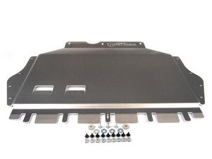 "ES#2777055 - 003425ECS02KT -  ECS Tuning Aluminum Street Shield Skid Plate Kit - Protect your vehicle's fragile oil pan and undercarriage with this 3/16"" (4.76mm) thick aluminum skid plate - ECS - Volkswagen"