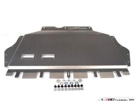 """ES#2777055 - 003425ECS02KT -  ECS Tuning Aluminum Street Shield Skid Plate Kit - Protect your vehicle's fragile oil pan and undercarriage with this 3/16"""" (4.76mm) thick aluminum skid plate - ECS - Volkswagen"""