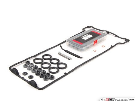 ES#1893858 - 83300493743 - S54 Valve Adjustment Kit - With gaskets  - Includes shim set, installation tool, and gaskets - Assembled By ECS - BMW
