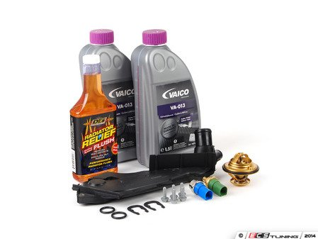 ES#2796215 - 078121121KKT1 - Cooling System Refresh Kit - Level 2 - Replace critical cooling system components and perform a proper coolant system flush! - Assembled By ECS - Audi