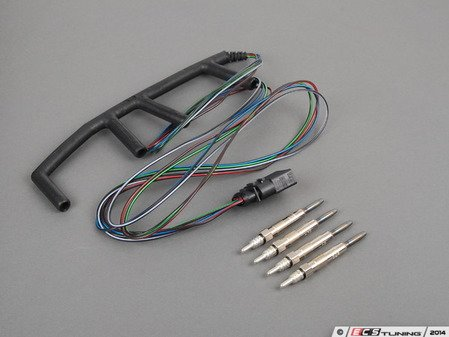 ES#2568606 - 038971220CALHKT - Glow Plug And Harness - Service Kit - Everything you need to get rid of the glow plug light in your dash. - Assembled By ECS - Volkswagen