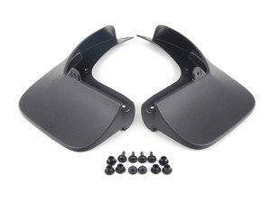 ES#2715562 - 5G0075101 - Mud Flaps - rear - Additional protection from the elements - Genuine Volkswagen Audi - Volkswagen