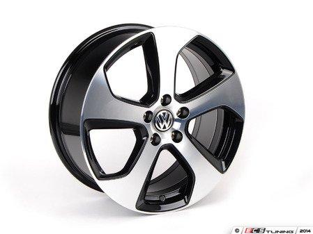 """ES#2770599 - 5g0601025asKT - 18"""" Austin wheel - Set Of Four - 18""""x7.5"""" ET49, 5x112 """"Austin"""" wheels - Genuine Volkswagen Audi - Volkswagen"""