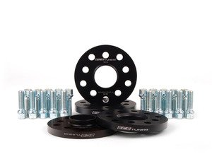 "ES#2807068 - 010421ECS01KT - Wheel Spacer Flush Fit Kit - Polished Bolts  - Includes spacers & Polished bolts to obtain a flush look on your OE 18"" wheels - Assembled By ECS - Audi"