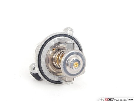 ES#2807159 - 11537586885-90C - Performance Thermostat - 90C - Includes housing and sealing o-ring - Hamburg Tech - BMW