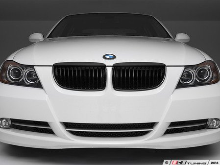ES#2777231 - BM01-9003-A-BK - Blackout Grille Set - Gloss Black - Add style and individuality to your BMW in minutes! - ECS - BMW