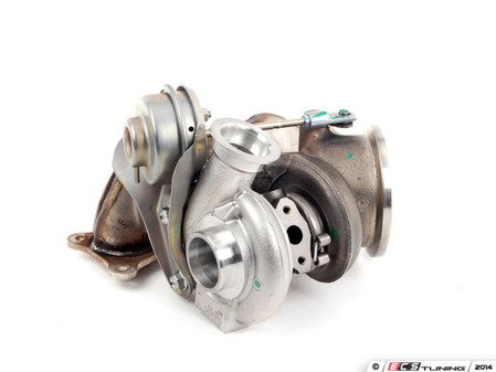 ES#2779816 - 11657649290 -  Rear N54 Turbocharger With Exhaust Manifold - Brand new original equipment turbo for your N54 powered BMW - Mitsubishi Turbocharger - BMW