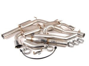 "ES#3136963 - FPIM-0371KT - Turbo-Back Exhaust System - Complete turbo-back system with dual 4"" round tips - Billy Boat Performance - Volkswagen"