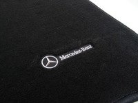 ES#1827761 - Q6680449 - Carpeted Floor Mat Set - Charcoal Color - Genuine Mercedes Benz - Mercedes Benz