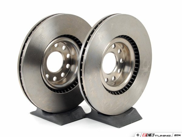 ES#2562348 - 25703KT - Front Brake Rotors - Pair (321x30) - Restore the stopping power in your vehicle - Brembo - Audi