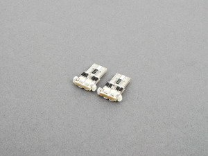 ES#2784441 - N0177535KTaKT - LED License Plate Lights - Pair - Featuring built in resistors, making these a simple plug and play procedure. - ZiZa - Volkswagen