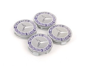 ES#2749195 - 66470120KT - Center Cap - Set Of Four - Clip-In Center Cap With Mercedes-Benz Laurel Wreath logo - Genuine Mercedes Benz - Mercedes Benz