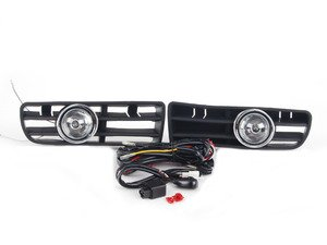ES#2806920 - FL-VG99-C - Bumper Fog Light Kit - Clear - Increase your light output for added safety while increasing style - Spyder - Volkswagen