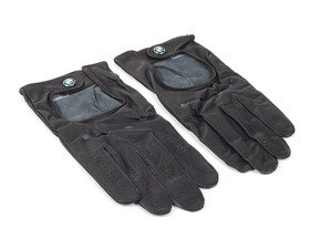 ES#256642 - 80162150528 - BMW Driving Gloves - XL - Leather driving gloves garnished with the BMW roundel - Genuine BMW - BMW