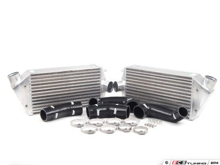 ES#2684976 - FMINT997BLK - Intercooler Upgrade Kit With Black Silicone Hoses - Cooler charge air equals bigger horsepower - Forge - Porsche