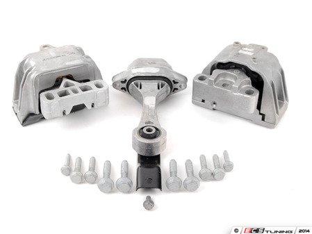 ES#2765713 - 1J0199851AM - Drivetrain Mount Kit - Refresh your worn drivetrain mounts - Assembled By ECS - Volkswagen