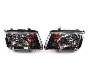 ES#4138 - MK4GLIHK - GLI Headlight Set - With fog lights and amber turn signal lenses - Hella - Volkswagen
