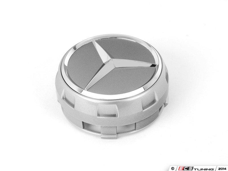 Genuine mercedes benz 00040009009790 center cap for Mercedes benz black center caps
