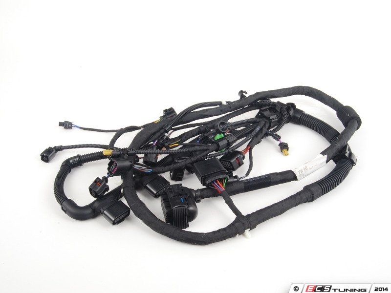genuine volkswagen audi jae engine wiring harness es 2191752 06j972619ae engine wiring harness entire engine electrical wiring harness