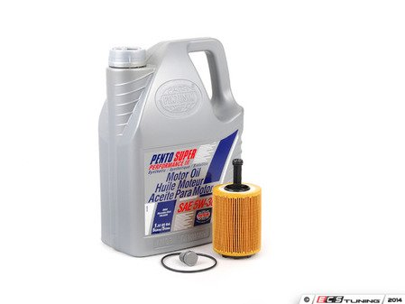 ES#2804494 - 071115562CKT7 - Oil Service Kit - Featuring Pentosin Performance III 5W-30 Engine Oil - Assembled By ECS - Volkswagen