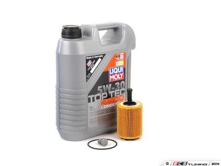ES#2804492 - 071115562CKT6 - Oil Service Kit - Featuring Top Tech 4200 5W-30 Engine Oil - Assembled By ECS - Volkswagen