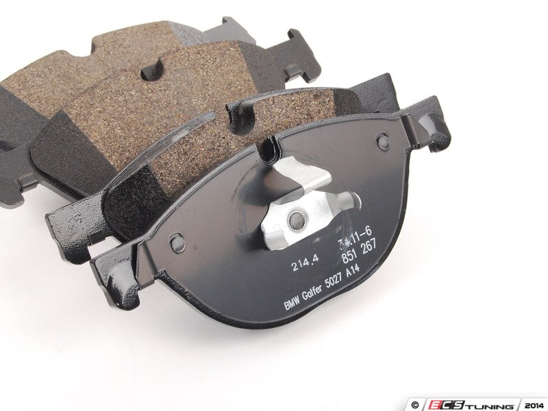 How Often To Replace Brake Pads >> Genuine BMW - 34116851269 - Front Brake Pad Set (34-11-6-851-269)