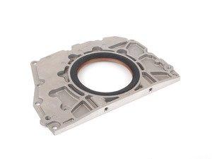 ES#2800215 - 078103171L - Rear Crankshaft Seal - With Flange  - With mounting flange & sealing gasket to engine block - Ajusa - Audi Volkswagen