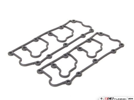 ES#1457908 - 96410513501 - Lower Valve Cover Gasket - Pair - Stop leaks with new valve cover gaskets - Genuine Porsche - Porsche