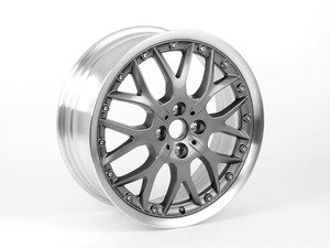 "ES#2784838 - 36116768580KT - R90 MINI Cross Spoke Composite Wheel 17"" (4x100) Anthracite - Set Of Four  - 17 x 7J ET:48 BBS 2 piece wheels 24 lbs each - Genuine MINI - MINI"