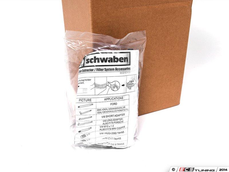 BMW E90 328xi N52 3 0L - ECS News - Schwaben Fluid Suction/ Fill Pump