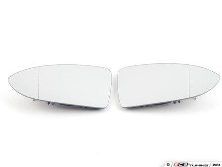 ES#2784761 - 5G0857522AKT - Heated Blind Spot Mirror - Set - Helps decrease blind spots by increasing outer mirror angle - Genuine European Volkswagen Audi - Volkswagen