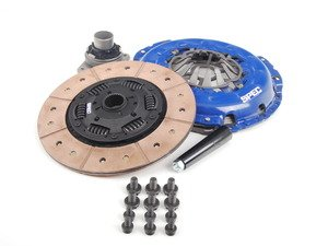 ES#2778072 - SA303F-3 - Stage 3+ Clutch Kit - Full faced carbon semi-metallic disc with a torque rating of 595ft/lbs - Spec Clutches - Audi