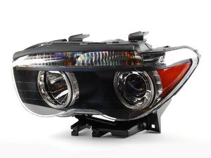 ES#172934 - 63127165455 - Xenon Headlight - Left - Replacement for broken or damaged headlights, white turn indicators - Genuine BMW - BMW