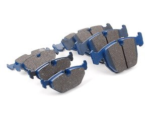 ES#2804491 - 7560-D681KT1 - Front And Rear Cool Carbon S/T Performance Brake Pad Set - All-in-one brake pads that deliver pure undiluted performance - Cool Carbon Performance - BMW